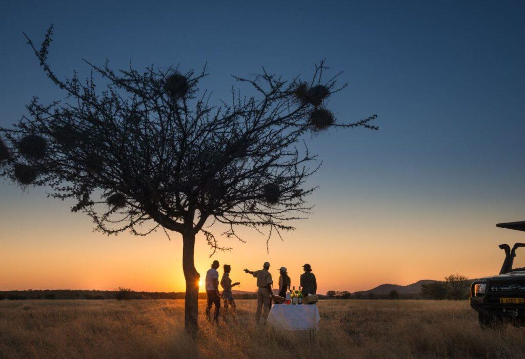 Sundowners in Africa