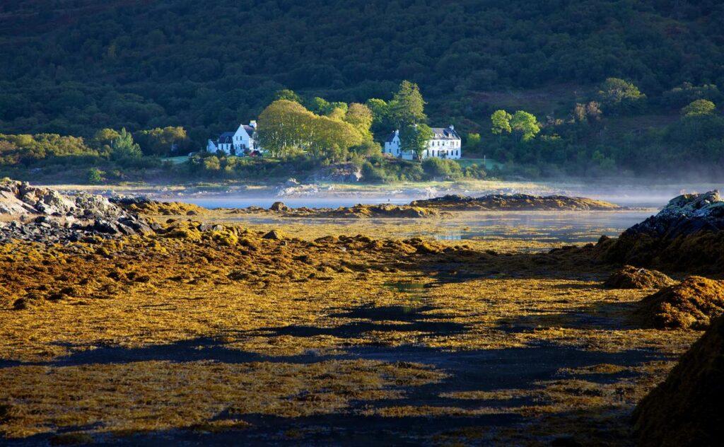 Kinloch Lodge in Scotland