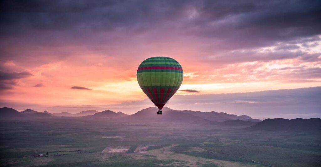 Morocco: Marrakech Hot Air Balloon Rde
