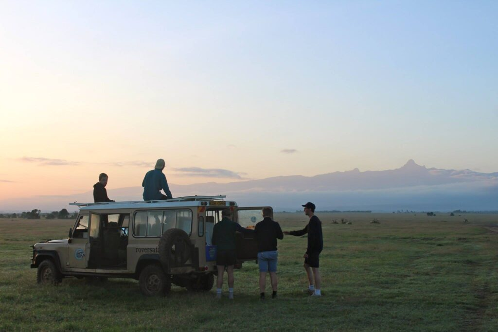 Mt Kenya Sunset