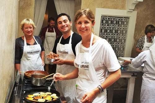 Marrakech, Moroccan Cookery Class