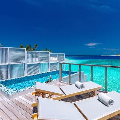 Deluxe Overwater Pool Villa