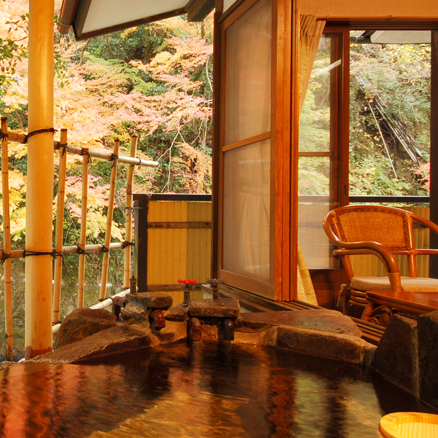 Japanese Room with Open Air Bath B