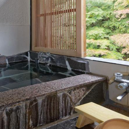 Japanese Room with Indoor Panoramic Bath A
