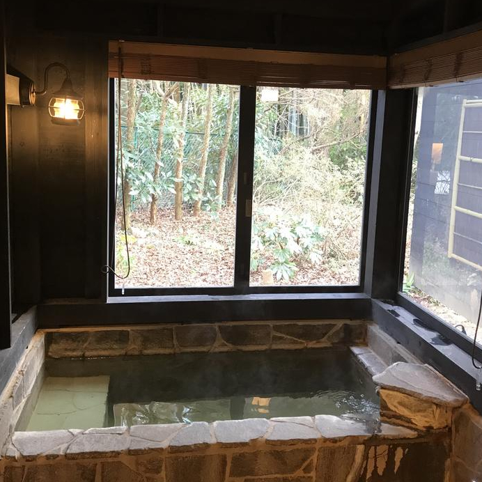 Superior Twin with Open Air Baths