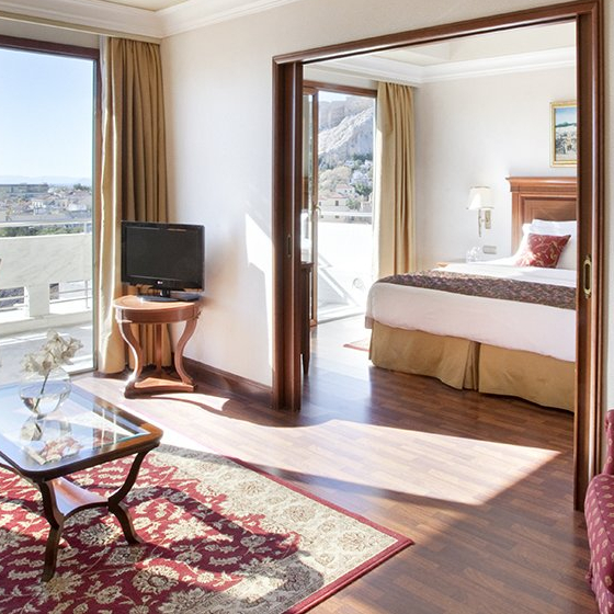 Suite with Acropolis view