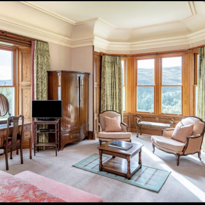 Alladale Lodge Room