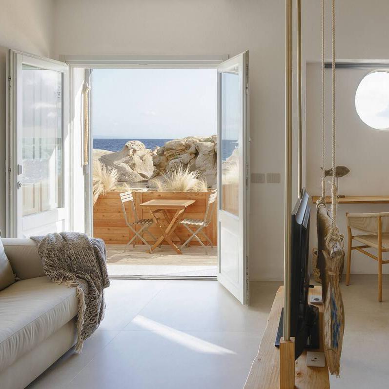Junior suite with beach access
