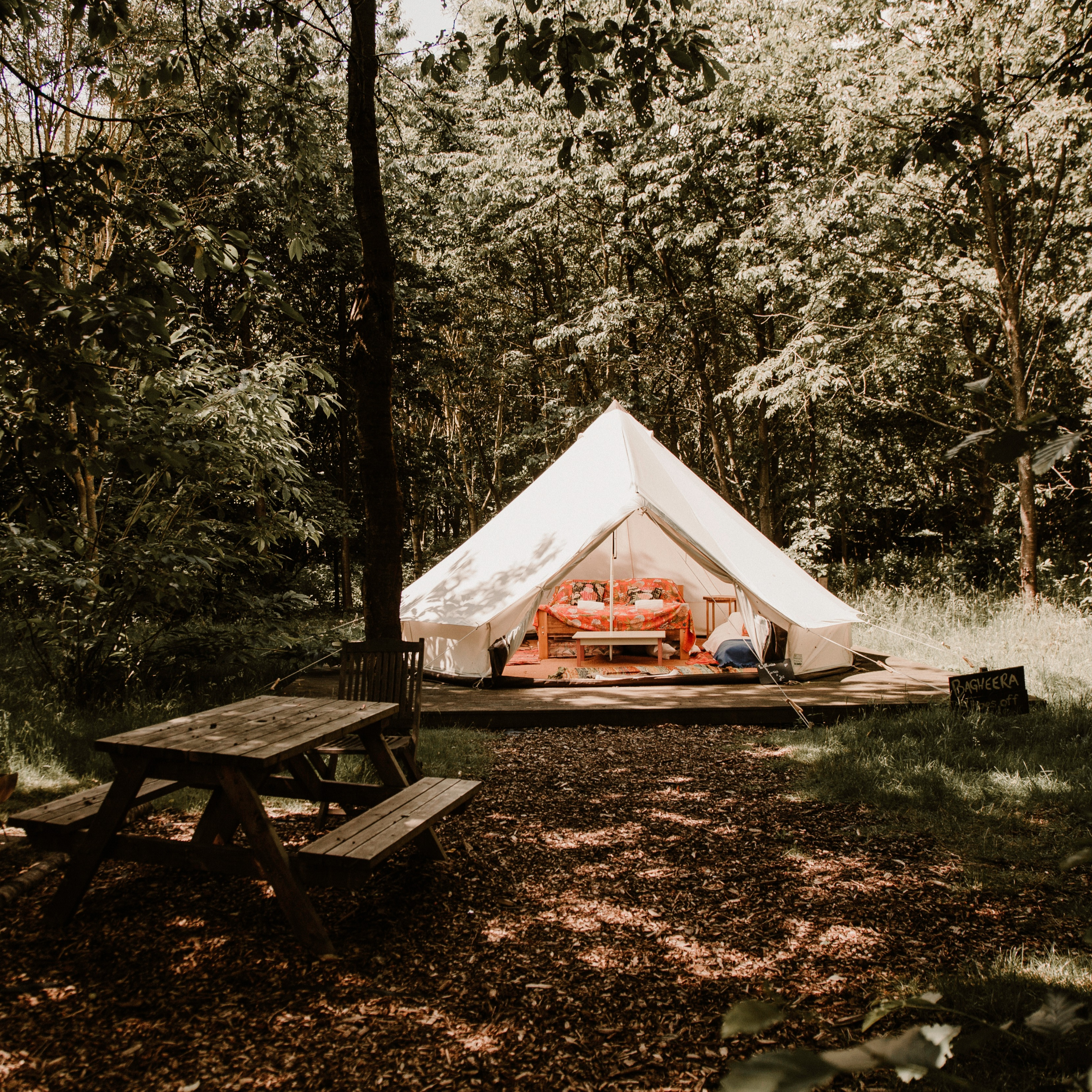 Yurt or Bell Tent